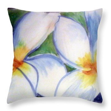 Flowers 3452 Throw Pillow