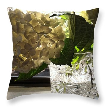 Flowers Always Inspire! Throw Pillow