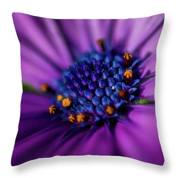 Throw Pillow featuring the photograph Flowers And Sand by Darren White
