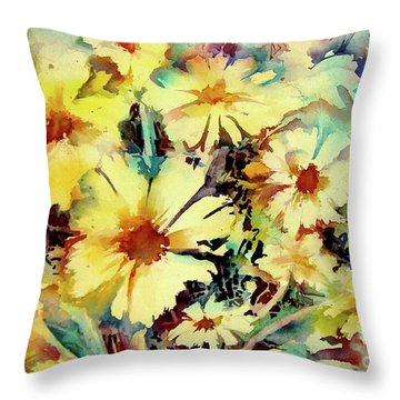 Flowers Are The Sweetest Things Throw Pillow