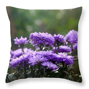 Flowers Edition Throw Pillow