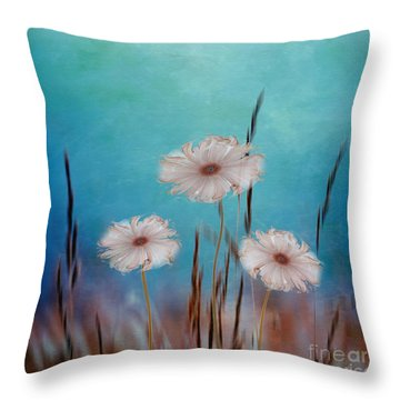 Flowers For Eternity 2 Throw Pillow