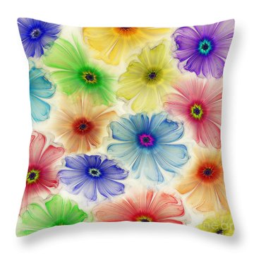 Flowers For Eternity Throw Pillow