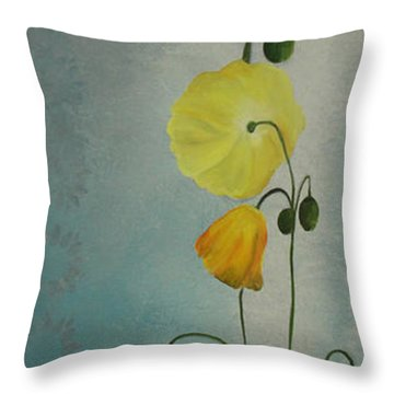 Flowers For Everyone Throw Pillow