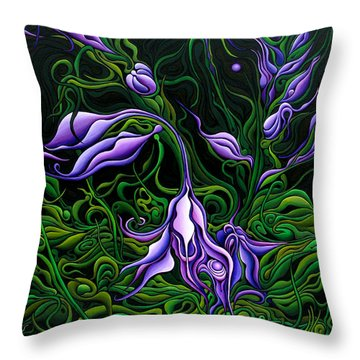 Flowers From The Failed Fiction Throw Pillow