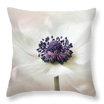 Flowers From Venus Throw Pillow