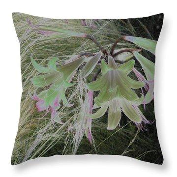 Flowers In Berkeley Throw Pillow