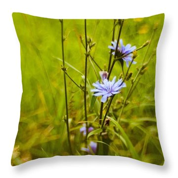 #flowers #lensbaby #composerpro Throw Pillow