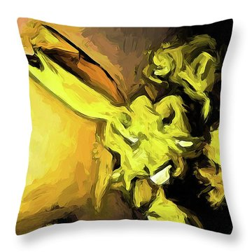 Flowers Of Yellow 1 Throw Pillow