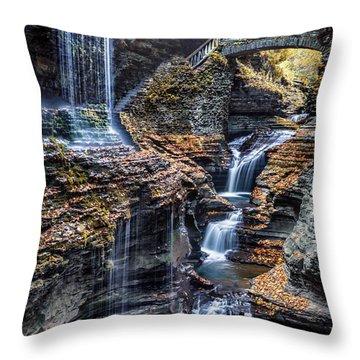 Upstate Ny Throw Pillows