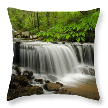 Flowing Easy Throw Pillow
