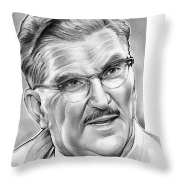 Floyd The Barber Throw Pillow