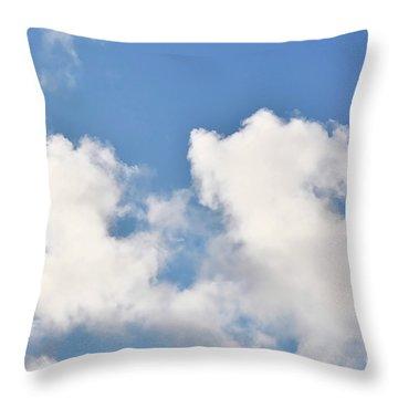 Fluffy Lamb Cloud Throw Pillow