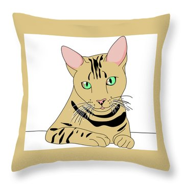 Fluffy Throw Pillow by Now