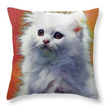 Fluffy Princess Throw Pillow