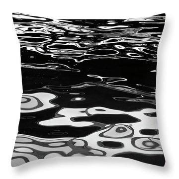 Fluid Abstract Throw Pillow