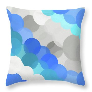 Fluid Throw Pillow by Dan Sproul