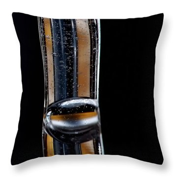 Fluidity Iv Throw Pillow