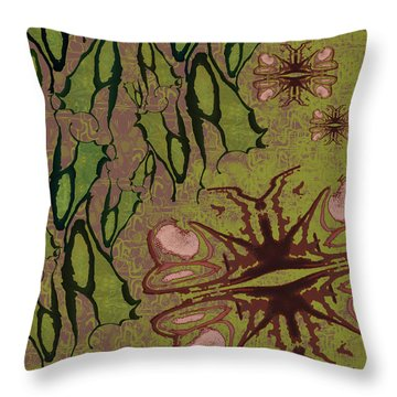 Flutter By Pods Throw Pillow