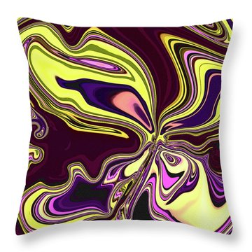 Flutter  Throw Pillow by Molly McPherson