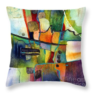 Fluvial  Mosaic Throw Pillow