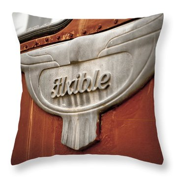 Flxible Clipper 1948 Throw Pillow