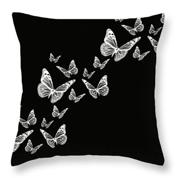 Fly Away Throw Pillow by Lourry Legarde