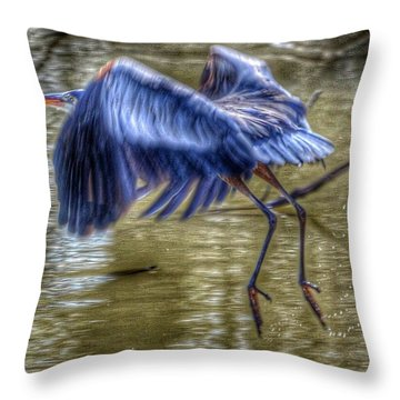 Fly Away Throw Pillow by Sumoflam Photography