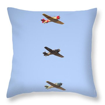 Fly Boys Throw Pillow