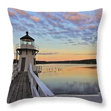 Fly By Morning Throw Pillow