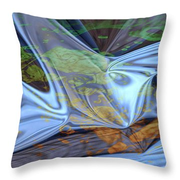 Fly By Night Throw Pillow