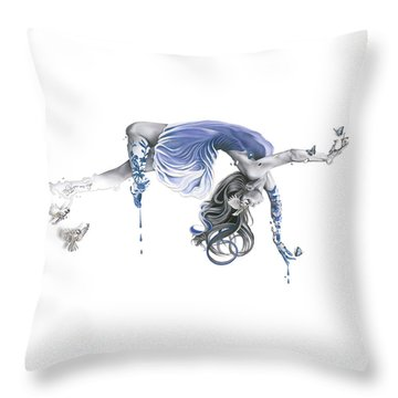 Fly By Your Own Wings Throw Pillow