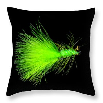 Throw Pillow featuring the photograph Fly-fishing 2 by James Sage