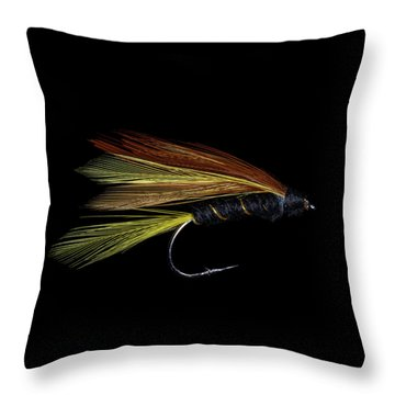 Throw Pillow featuring the photograph Fly Fishing 3 by James Sage