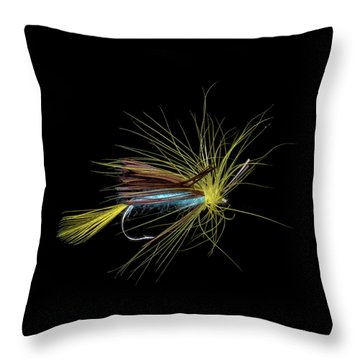 Fly-fishing 6 Throw Pillow