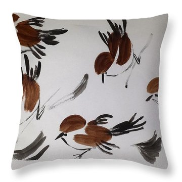 Fly Fly Away Throw Pillow