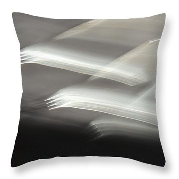 Fly From The Darkness Throw Pillow