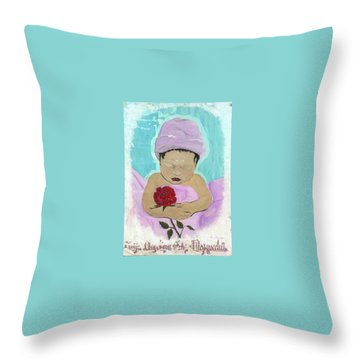 Fly Happy Unique Angel Again Throw Pillow