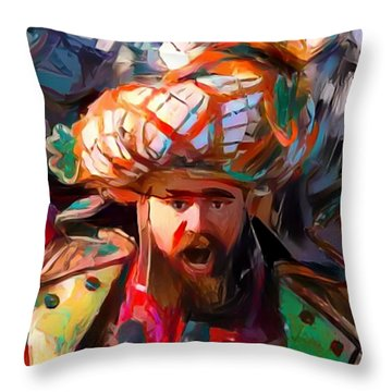 Fly Kelce Fly Throw Pillow