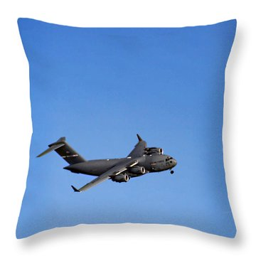 Throw Pillow featuring the photograph Fly Me To The Moon by Tammy Espino