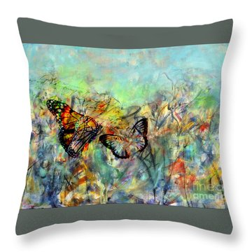 Fly Me Two The Moon Throw Pillow