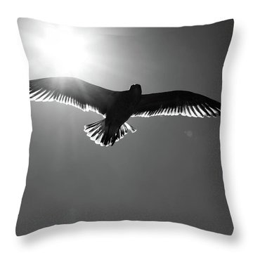 Fly On My Love  Throw Pillow