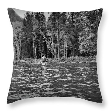 Fly On The Swing Throw Pillow