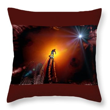 Flyboard  1 Throw Pillow