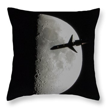 Flyby Throw Pillow