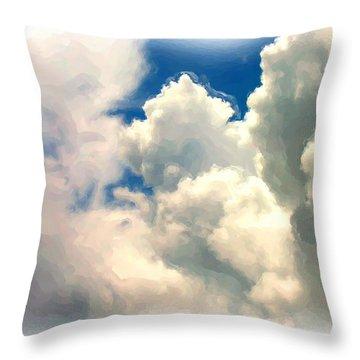 Flyin High Throw Pillow