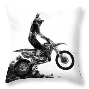 Flying 1 Throw Pillow
