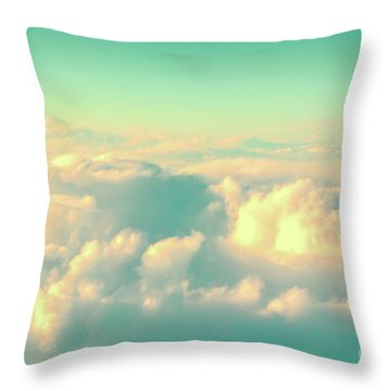 Throw Pillow featuring the photograph Flying by Delphimages Photo Creations