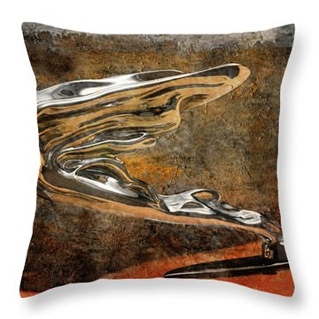 Throw Pillow featuring the digital art Flying Erol by Greg Sharpe