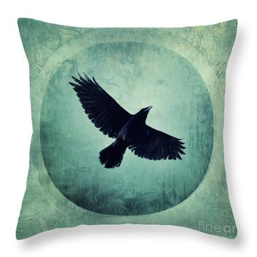Flying High Throw Pillow by Priska Wettstein